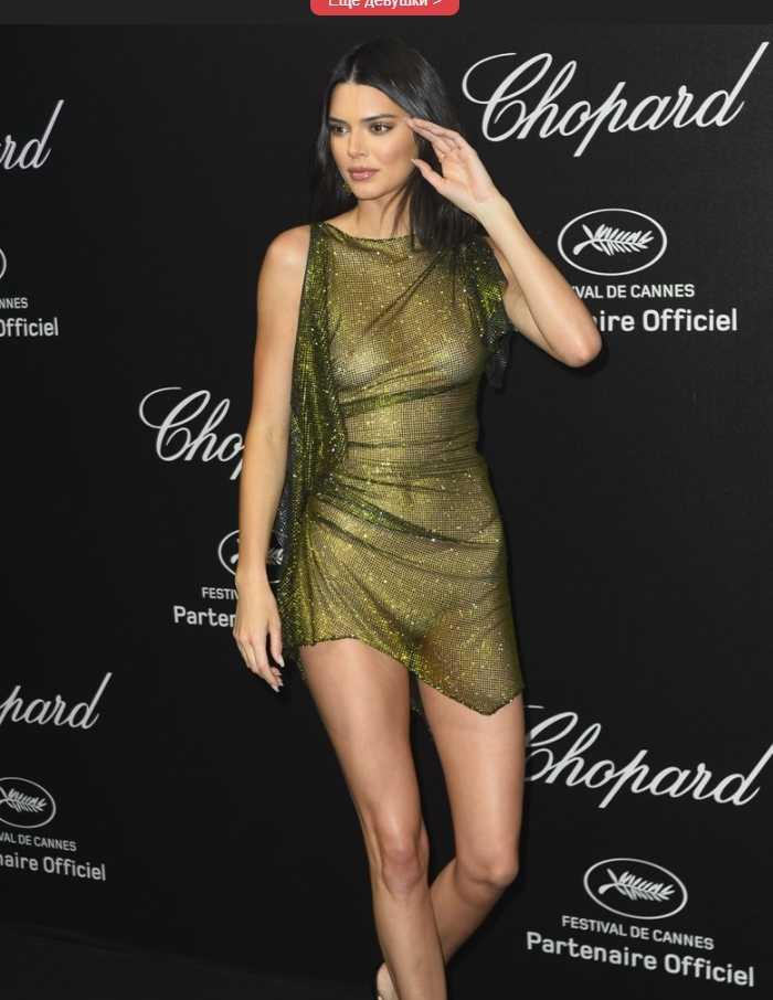 Kendall Jenner показала грудь (1)