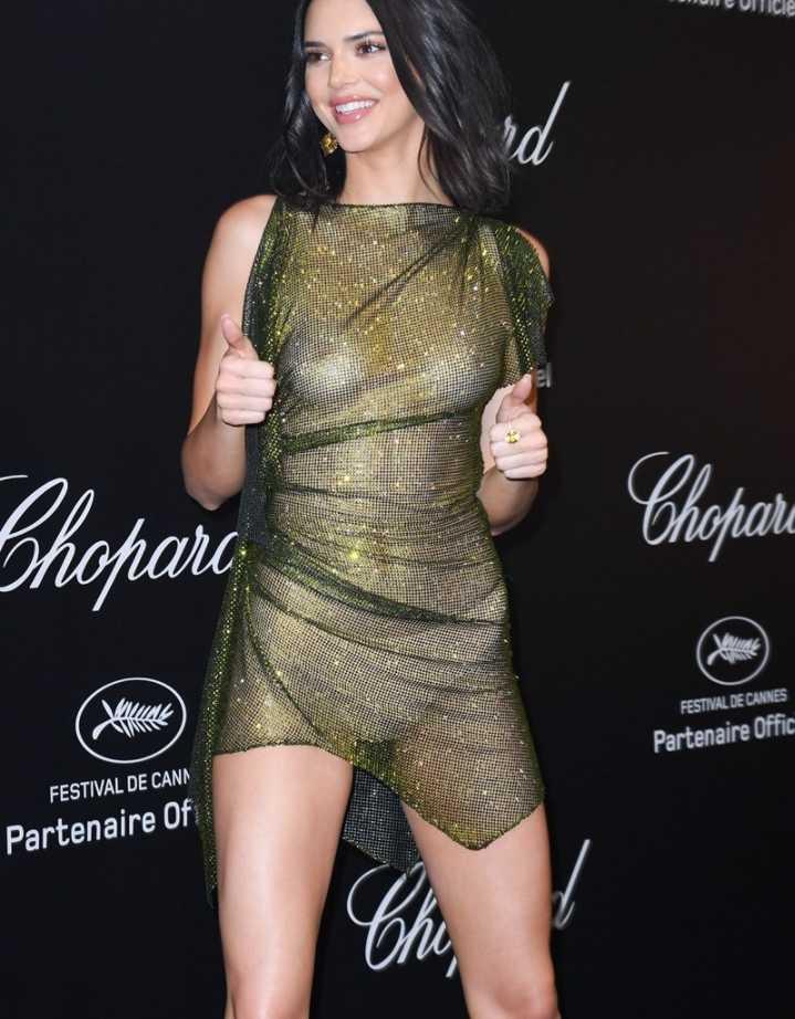 Kendall Jenner показала грудь (5)