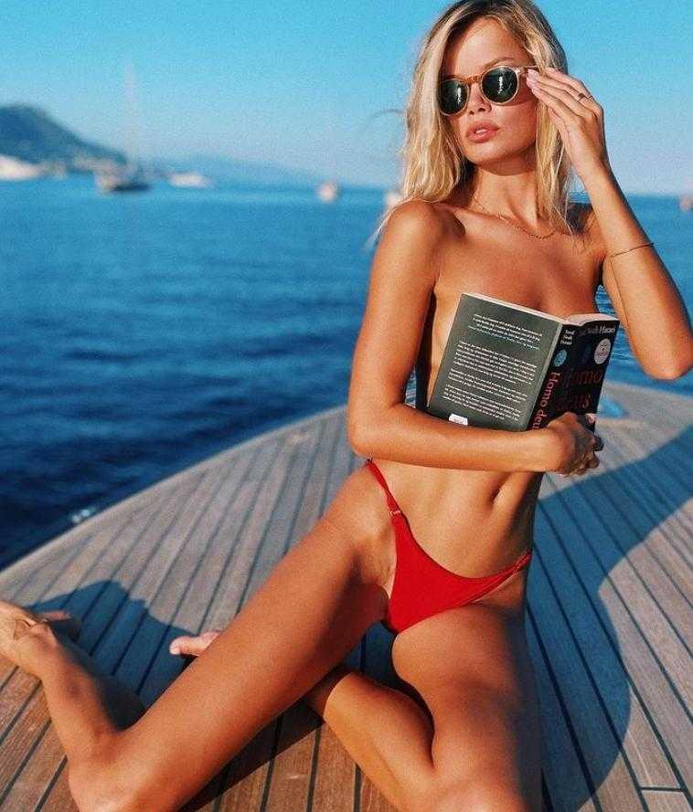 Фрида Аасен в купальнике и бикини горячие фото (7)