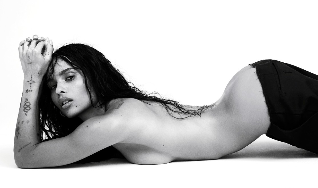 zoe kravitz nude and see through (3)