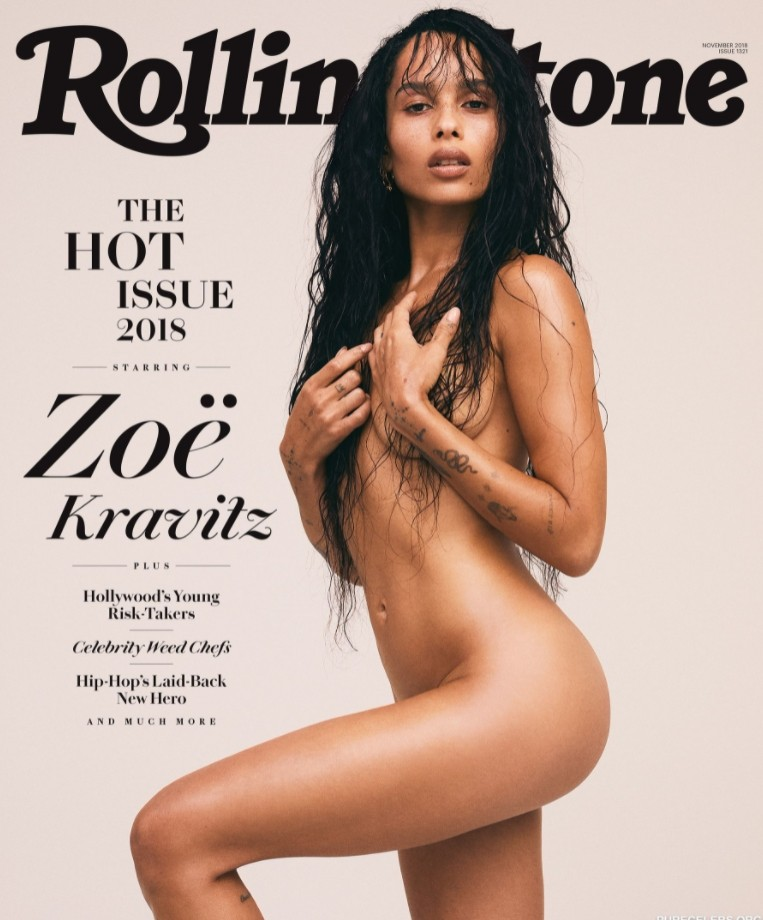 zoe kravitz nude and see through (5)